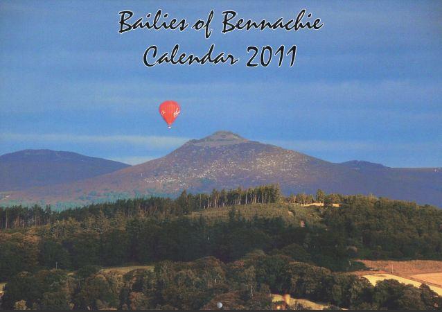 Bailies of Bennachie Calendar 2011