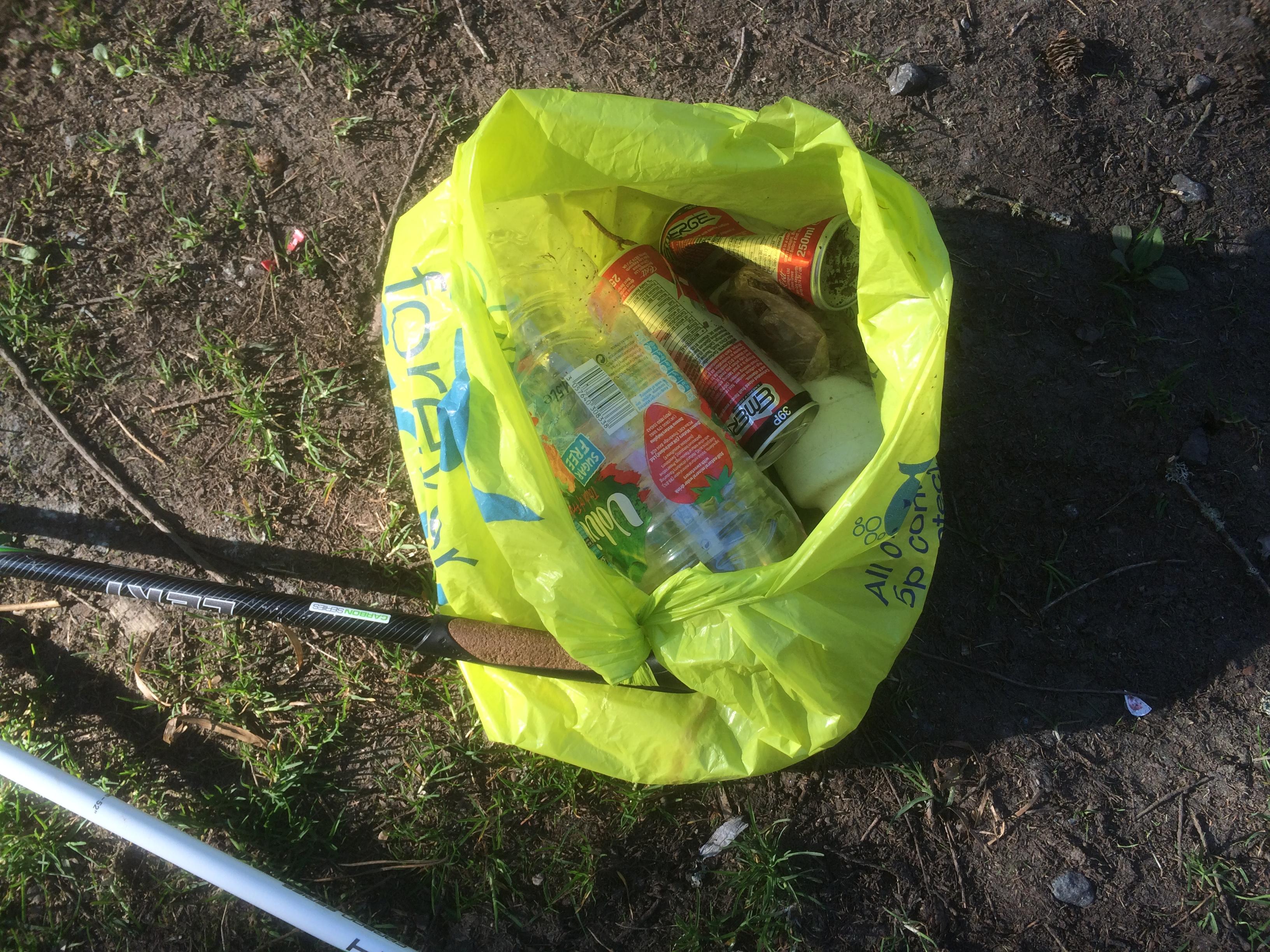 Sample of Rubbish Found on Bennachie