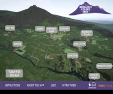Bennachie Colony Trail App Project