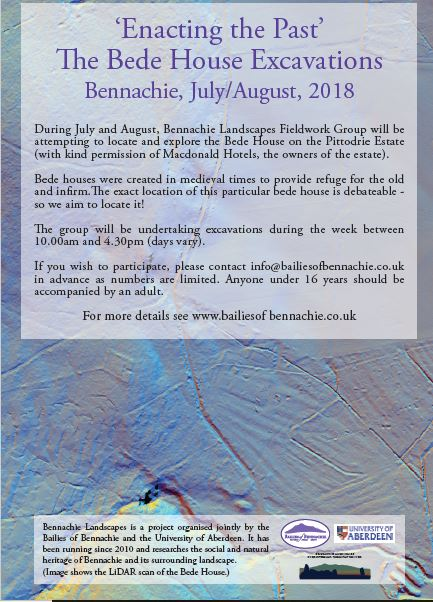 The Bede House Excavations on Bennachie