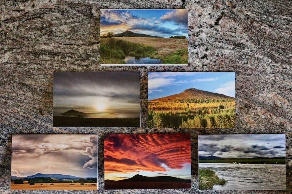 Assorted views of Bennachie A6 Cards