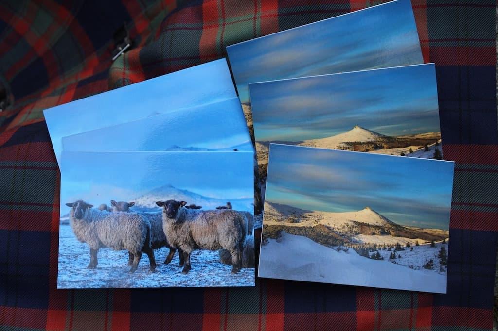 Winter Views of Bennachie A6 Cards