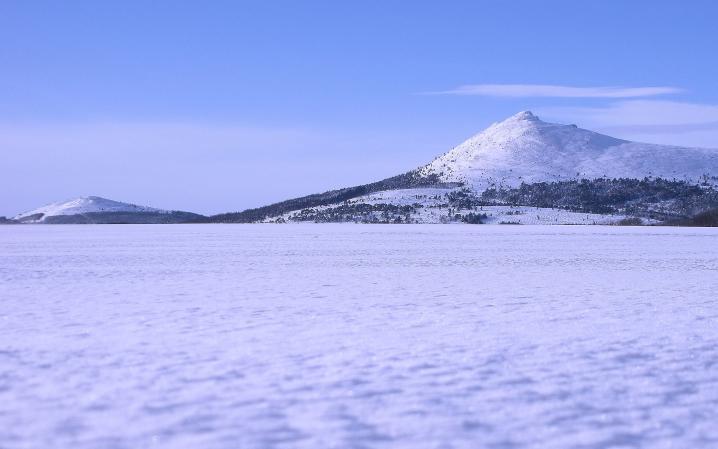 Bennachie Winter Scene