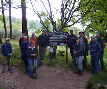 Bailies of Bennachie Work Party